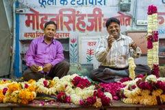 Kwiatów sprzedawcy Fotografia Stock