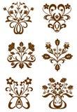 kwiatów wzory Obraz Stock