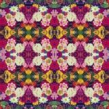kwiat światła playnig tło Skutek kalejdoskop Zdjęcie Stock