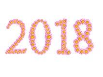 2018 kwiat Obrazy Royalty Free