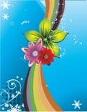 kwiat abstrakcjonistyczna ilustracja ilustracji