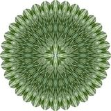 kwiat abstrakcjonistyczna zieleń Obraz Stock