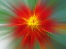 kwiat abstrakcyjna czerwone. obraz royalty free