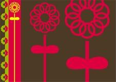 kwiat abstrakcyjne ilustracja wektor