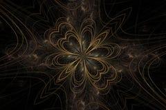kwiat abstrakcyjne Zdjęcia Royalty Free
