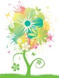 kwiat akwarela Obraz Royalty Free