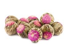 kwiat aromatyczna chińska herbata fotografia royalty free
