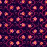 kwiat bezszwowy tło Obrazy Royalty Free