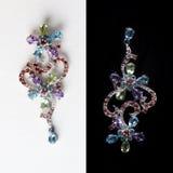 kwiat biżuteria Zdjęcie Stock