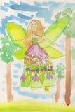 Kwiat czarodziejka Zdjęcia Royalty Free