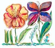 kwiat czerwień