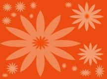 kwiat czerwone tło Zdjęcie Stock