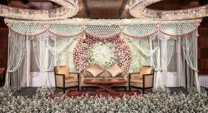 Kwiat dekoracja na scenie Fotografia Royalty Free
