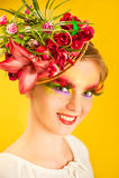 kwiat dziewczyna Obrazy Stock