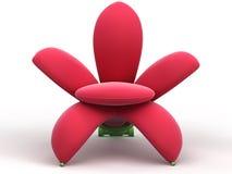 kwiat fotel royalty ilustracja