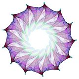 kwiat fractal Zdjęcie Royalty Free