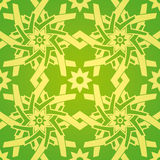 kwiat gwiazda geometryczna deseniowa bezszwowa Obraz Royalty Free