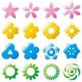 kwiat ikona Zdjęcie Royalty Free