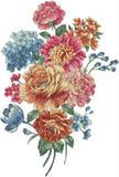kwiat ilustraci wzór w prostym tle ilustracja wektor