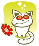 kwiat kota royalty ilustracja