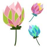 Kwiat kropka royalty ilustracja