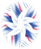 kwiat kwiecisty wzór abstrakcyjne royalty ilustracja