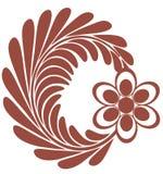 kwiat logo Zdjęcia Royalty Free