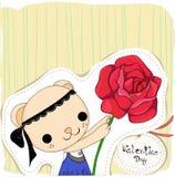 Kwiat miłość Zdjęcia Stock