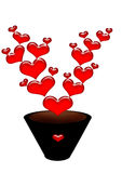 kwiat miłość Zdjęcie Stock