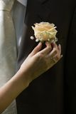 kwiat na ślub Obrazy Royalty Free
