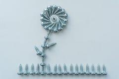 Kwiat na trawie Obraz Stock
