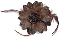 Kwiat od tkaniny Zdjęcia Royalty Free