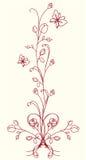 kwiat Oriental ilustracji