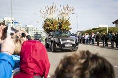 Kwiat parada w holandiach przy wiosną Fotografia Royalty Free