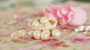 kwiat perła Zdjęcie Royalty Free