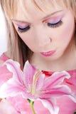 kwiat piękna orchidea Obrazy Royalty Free