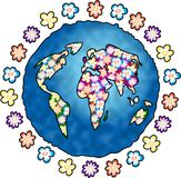 kwiat planety zdjęcia royalty free
