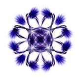 kwiat projektu abstrakcyjne tło Royalty Ilustracja