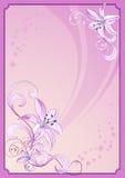 kwiat ramowej lily ilustracja wektor