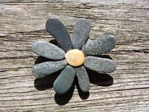 Kwiat robić od naturalnych kamieni Zdjęcia Stock