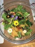 Kwiat sałatka Zdjęcia Royalty Free