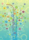 kwiat schematu Fotografia Stock