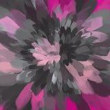 Kwiat szarość i menchii muśnięcia uderzeń tło amerykanin dekoruje projekta patriotycznych ustalonych symboli/lów wektorową wersję ilustracji