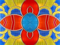 kwiat szklankę oznaczane Zdjęcia Stock