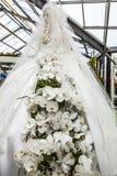 Kwiat szklarnia, florystyczny wystrojów elementów zakończenie Keukenhof jest światu kwiatu wielkim ogródem Zdjęcia Royalty Free