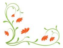 kwiat tła grunge farbę. royalty ilustracja