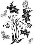 kwiat tło royalty ilustracja