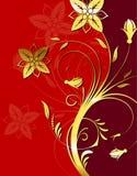 kwiat tło Zdjęcia Stock