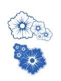 Kwiat tekstura Obrazy Stock