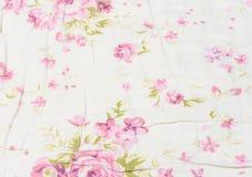 Kwiat tkanina Zdjęcie Royalty Free